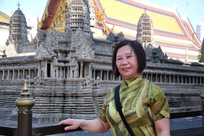 Mom in Grand Palace