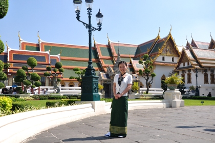 Sharon in Grand Palace