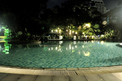 swimming pool at Swissotel