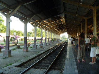 at Chiang Mai Railway Station